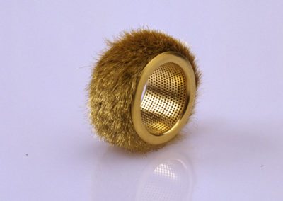The Golden Fleece. Ring. White